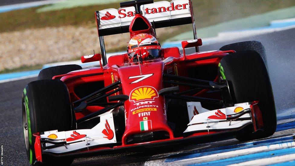 Ferrari precauți înainte de Monza